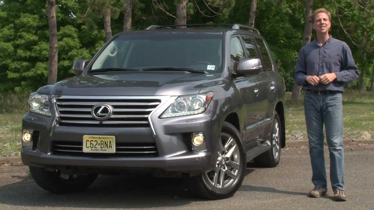 2013 Lexus LX570   Drive Time Review With Steve Hammes | TestDriveNow    YouTube