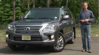 2013 Lexus LX570 - Drive Time Review with Steve Hammes | TestDriveNow