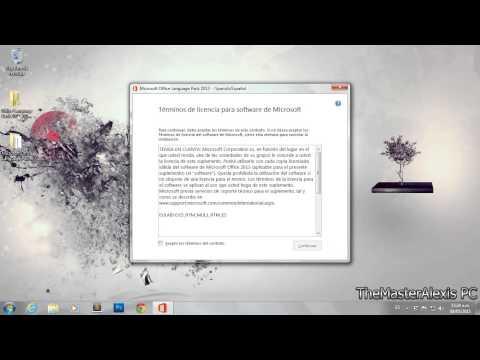 Como Cambiar Microsoft Office 2007, 2010, y 2013 al Idioma Español