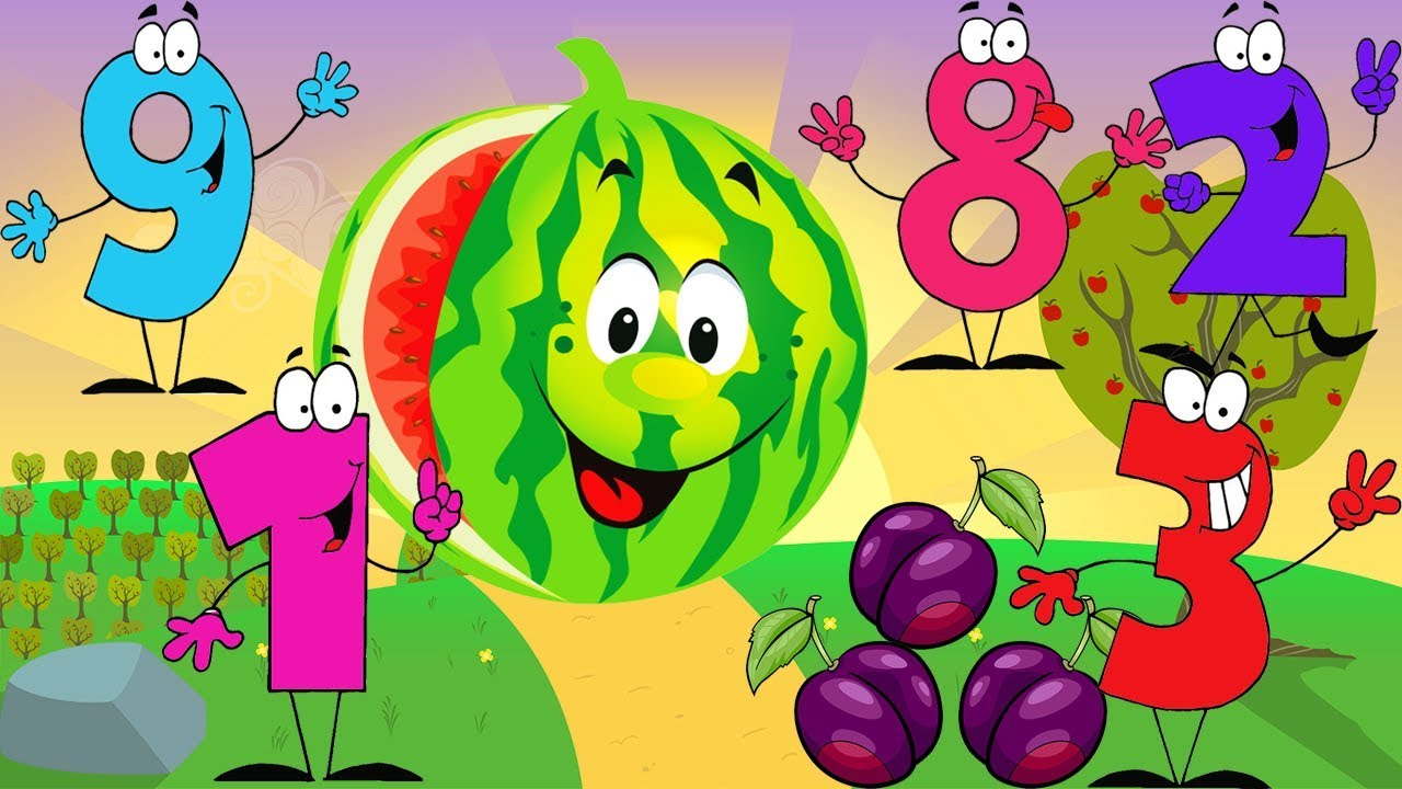 Coloring Book Learn numbers 1- 10 - YouTube
