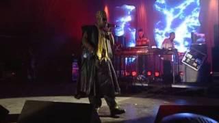 Basement Jaxx - Jump N Shout ( Glastonbury 2000 Live ) feat. Slarta John