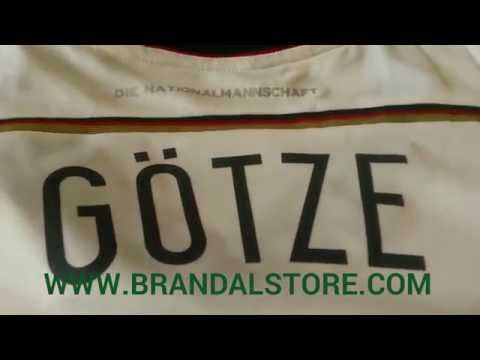 Authentic Germany World Cup 2014 FINAL jersey Gotze 19