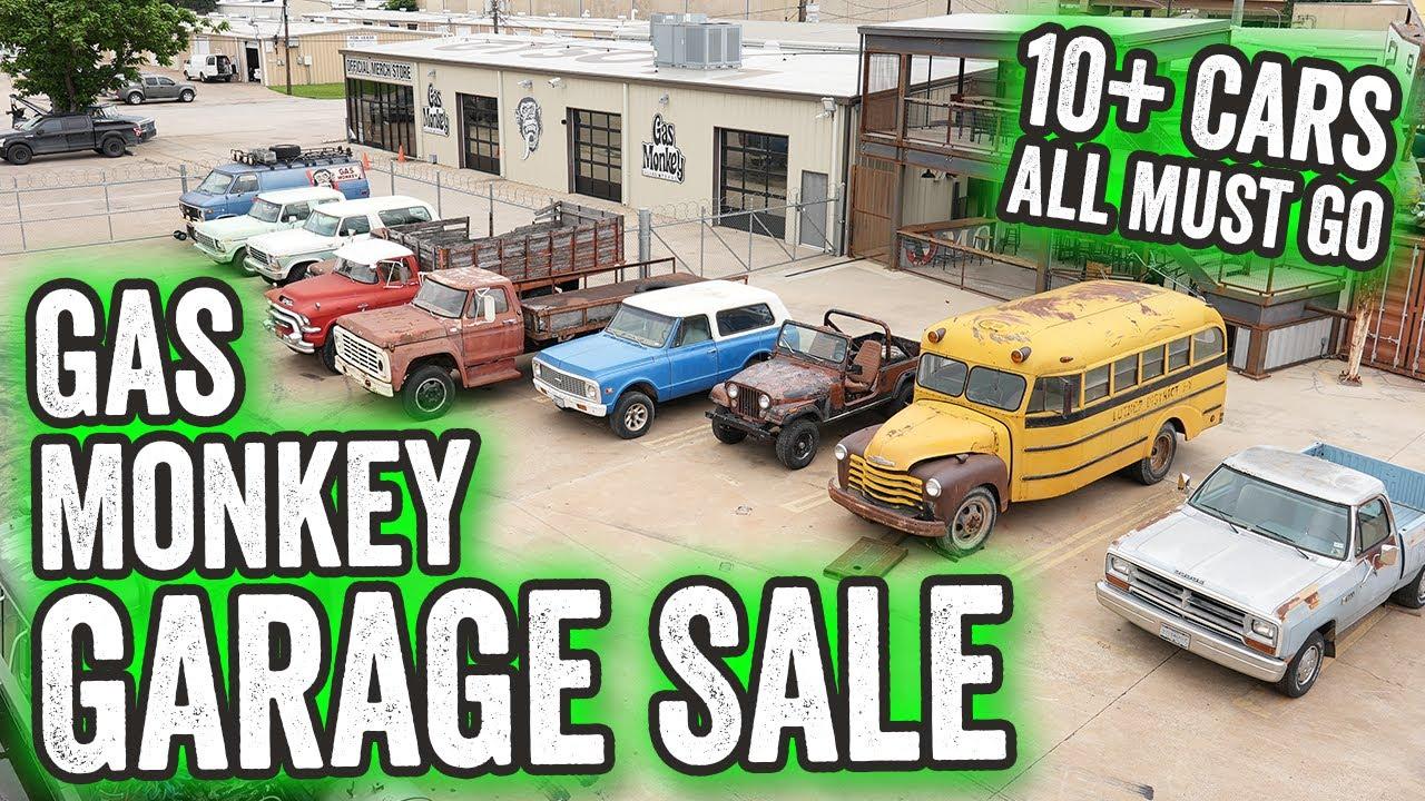 Gas Monkey Garage Sale - EVERYTHING MUST GO!
