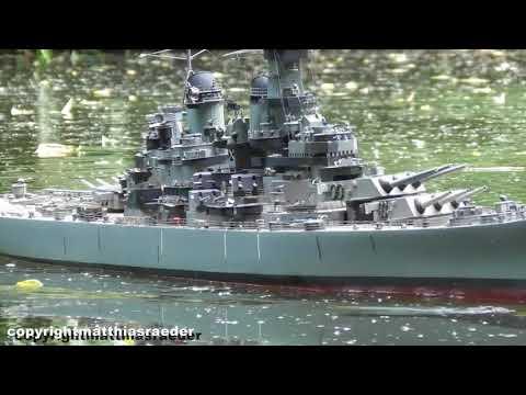 RC Modell USS Missouri Von Der Graupner Premium Serie
