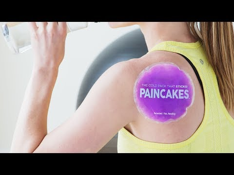 PAINCAKES | Reusable Adhesive Cold Packs