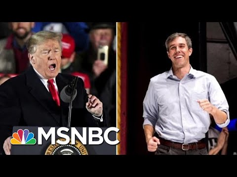 President Donald Trump And O'Rourke Hold Dueling Rallies In El Paso | Hardball | MSNBC Mp3