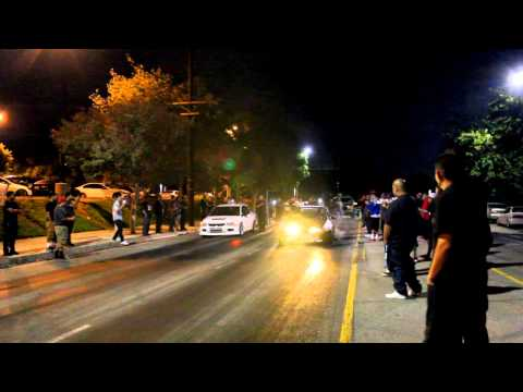 Asylum Racing Integra VS Valley Evo street racing