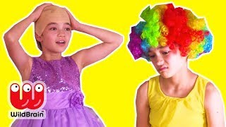 MALICE'S HAIR SALON PRANK 💇 Funny Hair Disasters! - Princesses In Real Life | WildBrain Kiddyzuzaa