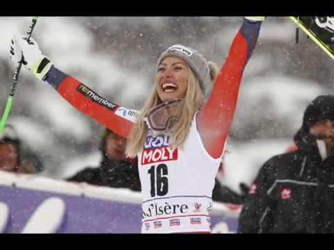 Ragnhild Mowinckel,  Norwegian alpine ski racer,  slalom , Super-G at Winter Olympics in Pyeongchang