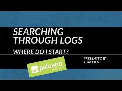Tutorial: Searching Through Logs: Where Do I Start?