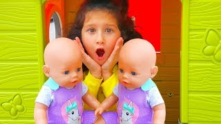 Toys store! | Alice play Hide and Seek with Baby Born in the toys store