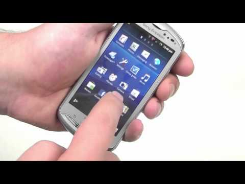 English: Sony Ericsson Xperia pro review