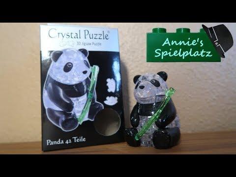 3D Crystal Puzzle Katzenpaar 49 Teile Ab 14 Jahre.