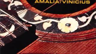 Amalia/Vinicius - disco que regista o encontro de Vinicius (e mais poetas) em casa de Amália (1970)