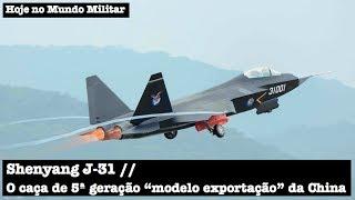 """Shenyang J-31, o caça de 5ª geração """"modelo exportação"""" da China"""