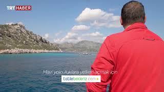 Marmaris Selimiye ve Bozburunu geziyoruz ...MaviYeşil /Gerçel Kara 5. bölüm TRT HABER