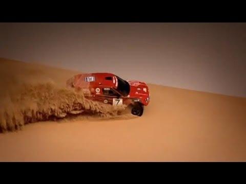Deadly Desert Race | Bowler Nemesis Vs 12 Tonne Truck | Top Gear