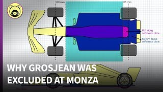 Why Grosjeans car was illegal at Monza - Chainbear explains