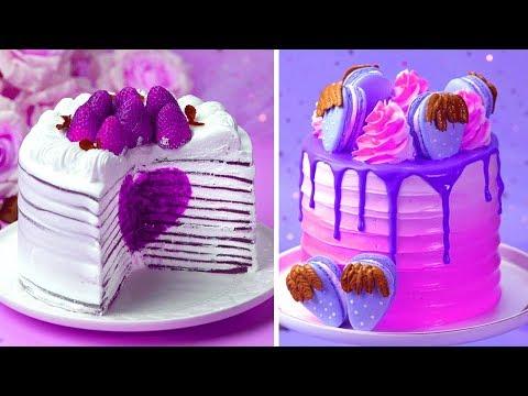 Most Satisfying Colorful Cake Decorating Ideas | So Easy Cake Decorating Compilatios | Extreme Cake