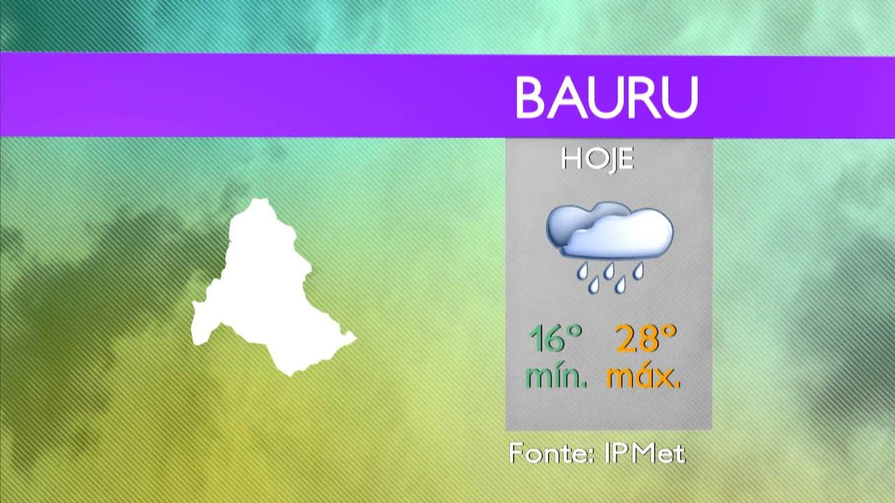 Previsão Do Tempo 27 01 2012 Bauru E Região Tv Unesp Youtube
