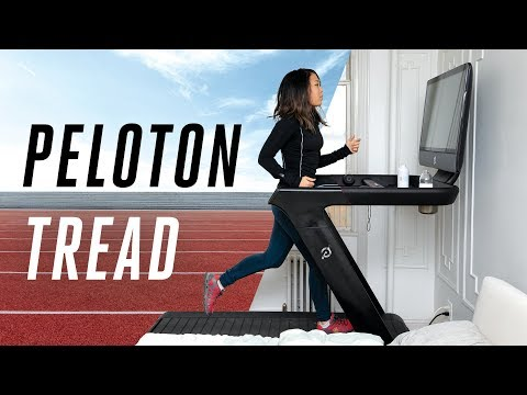 I hate running but I ran on the Peloton Tread