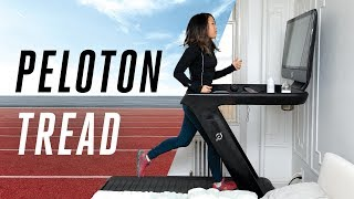 I hate running but I ran on the Peloton Tread