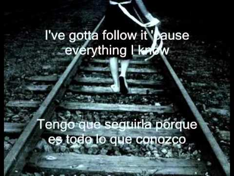 makin love out nothing at all.  lyrics español ingles