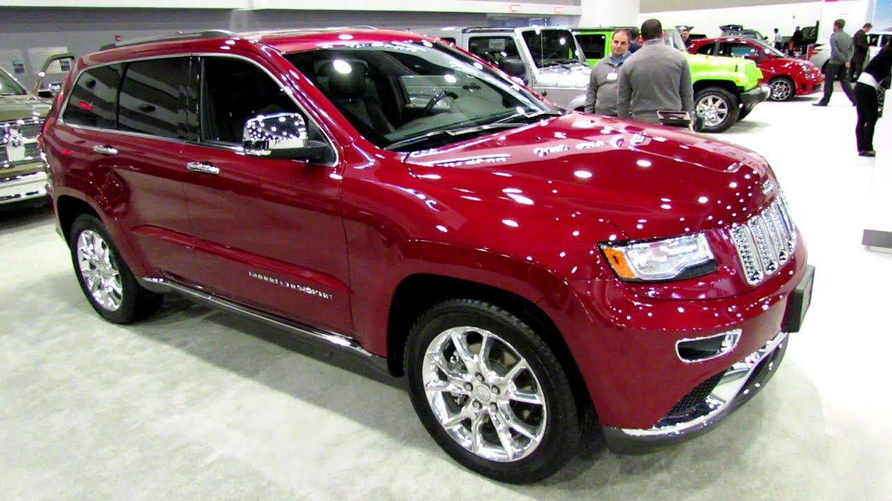 2014 Jeep Grand Cherokee Summit Diesel - Exterior and ...