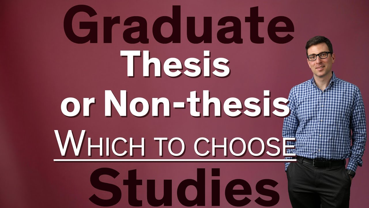 Masters Non Thesis