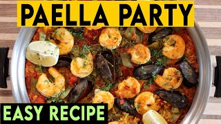 Paella Recipe Done Right! A Party In Your Mouth!