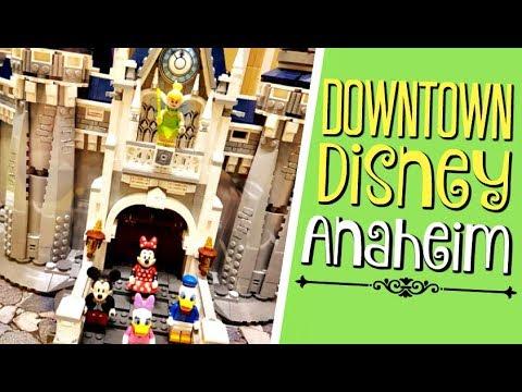 DOWNTOWN DISNEY ANAHEIM (Pt.1): LEGO STORE E PIN TRADERS!