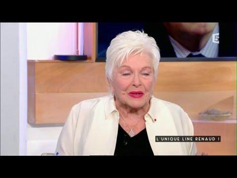 L'unique Line Renaud - C à vous - 06/01/2017