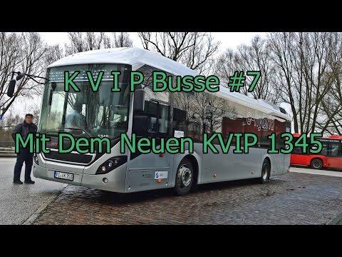 KVIP Busse #7 Mit Dem Neuen KVIP 1345 EX VHH Volvo