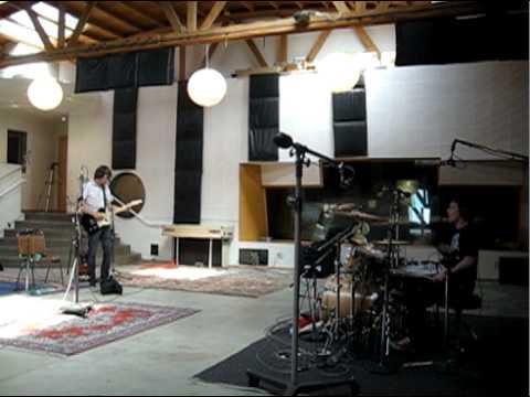 Recording Drums at Ocean Studios