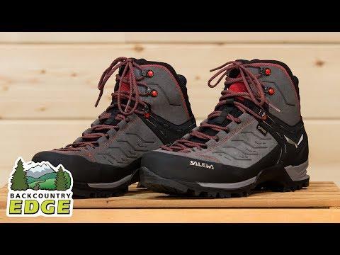 72dd7515bf4 Salewa Men's Mountain Trainer Mid GTX Hiking Boots - YouTube