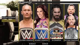 WWE2K18 - GM Mode, draft & Office - Concept