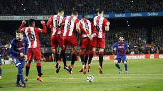 Lionel Messi All Free-kick Goals in 2017/18 for FC Barcelona So Far (1080p HD)