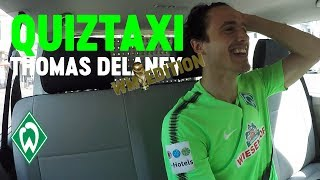 World Cup Quiz Taxi mit Thomas Delaney | SV Werder Bremen
