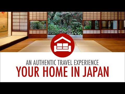 Your Home in Japan – For an Authentic Travel Experience