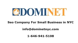 Best Seo Company For Small Business   Dominet - (646) 941-5108