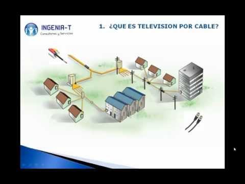 Curso basico catv redes de televisi n por cable for Amplificador tv cable coaxial