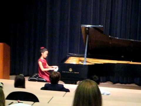 Sophia's Bach Competition