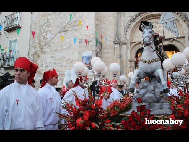 Vídeo: Procesión de Santiago Apostol 2016