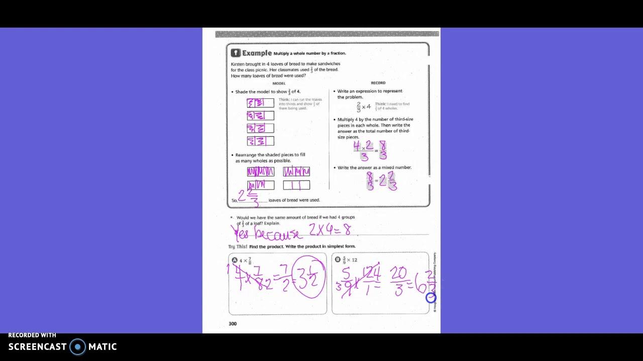 Go Math 5th Grade 7 3 Answer Key