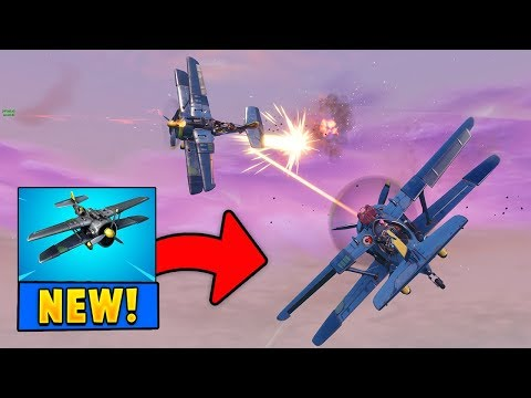 *NEW* X-4 Stormwing Plane Gameplay in Fortnite (Season 7)