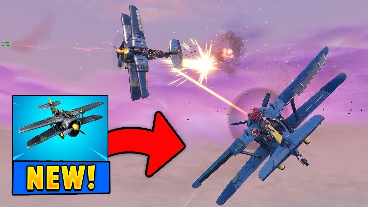 New X 4 Stormwing Plane Gameplay In Fortnite Season 7 Youtube