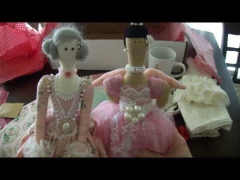 Tilda Doll Swap with Gloria!