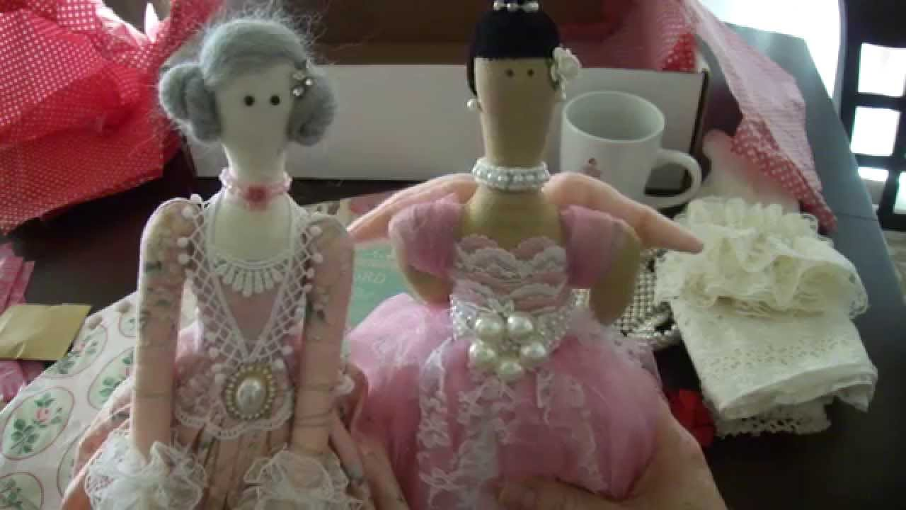 Tilda Doll Swap With Gloria Youtube