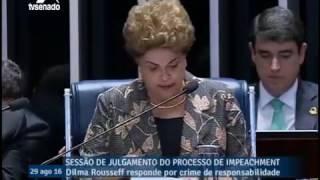 Perguntas do Senador Tasso Jereissati à Presidente Dilma Rousseff