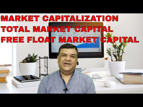 What is Market Capital in stock market ? / Total Market & Free Float Market Capital in HINDI